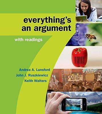 Everything's an Argument with Readings, 7th Edition (eBooᴋs, 2016)