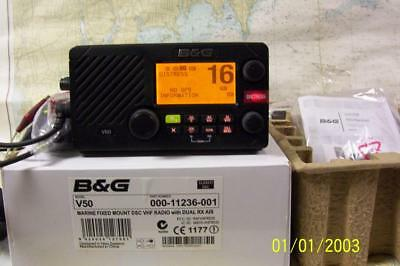 Boaters' Resale Shop of TX 1812 1527.14 B&G V50 DSC VHF RADIO WITH AIS