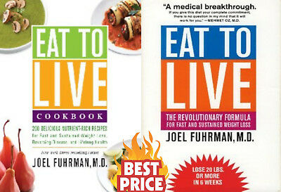 🔥Eat to Live Quick and Easy Cookbook by Joel🔥Instant Delivery )📥🔥2 EB00K🔥