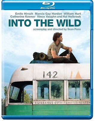 Into The Wild 2007 Adventure Biography Film Blu-ray (UK) Brand New