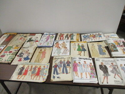 Vintage Sewing Patterns Lot of 20 Vintage Butterick, Simplicity & McCalls