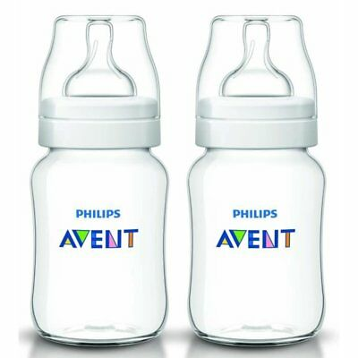 Biberon Philips AVENT Classic Pack de 2 x 260ml/9oz Alimentation Anti-Coliques
