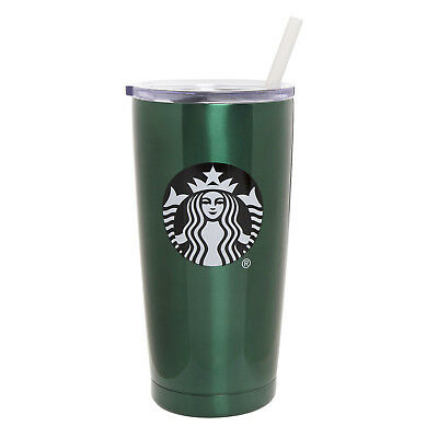 Brand NEW Starbucks Christmas 2018 Limited Stainless Steel Green Tumbler 20oz