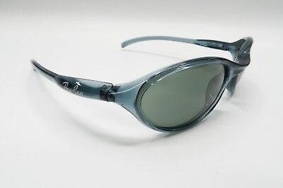 NICE Ray Ban Cutters RB 2045 Sunglasses W3288 Clear Blue Italy Oval 9863