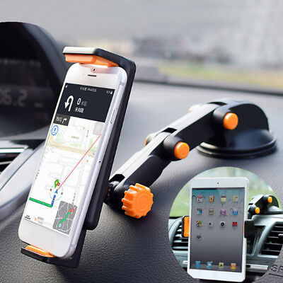 """360° car windshield mount holder for 7-11"""" iPad Mini/2/3/4/Air iPhone tablet CA"""