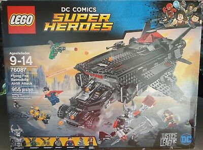 LEGO 76087 DC Comics Super Heroes Flying Fox Batmobile Airlift Attack NEW SEALED