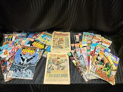 Lot Of 47 DC Comics Teen Titans 1980's Era (3A)