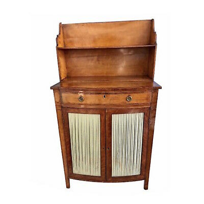 18th C. English George III Satinwood Side Cabinet