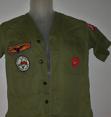 Boys Scouts Official Uniform Shirt Youth Longhorn Council Worth Ranch Texas