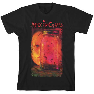 Alice In Chains Jar Of Flies Album Cover Black Kings Road Tee Adult XXL (New)