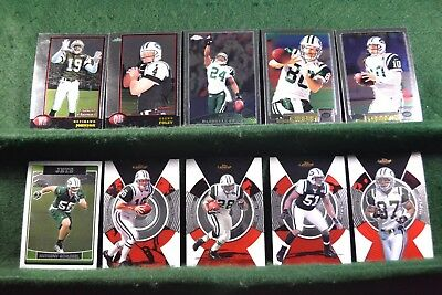 Lot of 20 New York Jets w/ Curtis Martin, Chad Pennington, Shonn Greene Inv#N033