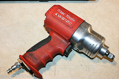 "Mac Tools 1//2/"" Drive Air Impact Wrench Gun AW480Q Red Protective Boot"