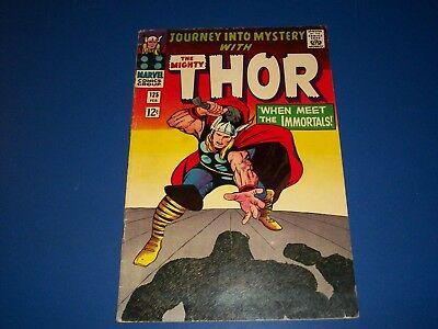 Journey Into Mystery #125 Silver Age Thor Fine- Hercules Wow