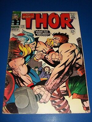 The Mighty Thor #126 Silver Age VG+ Hercules