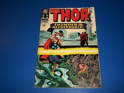 The Mighty Thor #130 Silver Age Comic