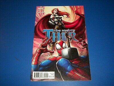 The Mighty Thor #20 Mary Jane Variant NM-/NM Gem Spider-man Cover 1st Print!