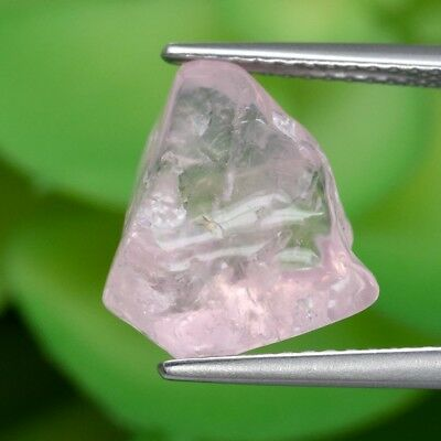 6.50ct Natural Unheated Pink Morganite Facet Rough Polished, Brazil