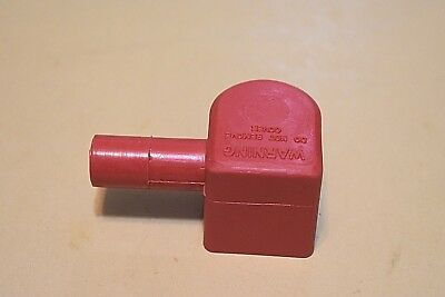 Lawn Mower Garden Tractor Battery Terminal Left Elbow Boot Cover Positive Red