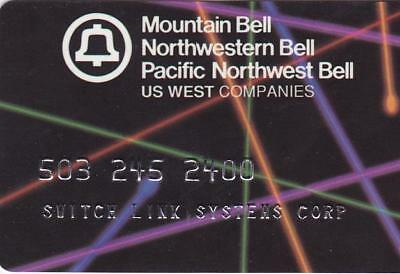 Long Gone.    Pacific Northwest Bell Calling Card.  Mint Condition.