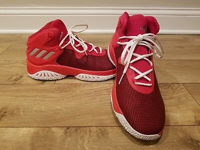 ADIDAS EXPLOSIVE BOUNCE Basketball Shoes RedWhite BY3777 Men's Sz 11.5 NEW