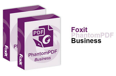 Foxit PhantomPDF Business Version 9.2 - PDF Editor - Create, Organize PDF Files