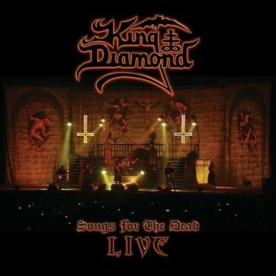 King Diamond Songs For The Dead Live New CD