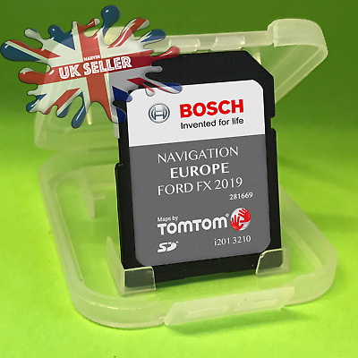 2019 - 2020 FORD FX SD CARD NAVIGATION SAT NAV LATEST MAP Europe and UK