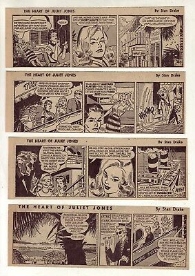 Heart of Juliet Jones by Stan Drake - 26 daily comic strips - Complete Aug. 1959