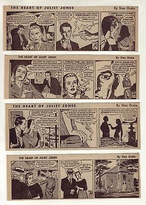 Heart of Juliet Jones by Stan Drake - 26 daily comic strips - Complete May 1959