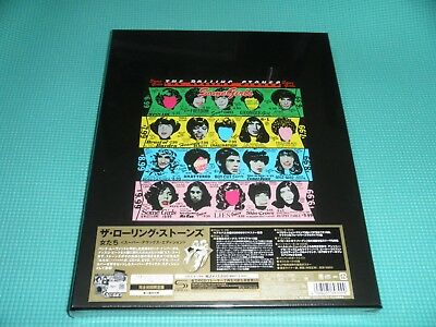 """ROLLING STONES SHM-2CD+DVD+7""""+Book BOX Some Girls Super DX Edition Japan NEW"""