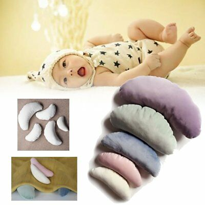 5Pcs Newborn Baby Infant Photography Filled Pillow Moon Bean Posing Photo Prop