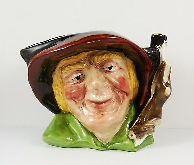 Oldcourt Ware Pottery Character Jug ~ The Poacher