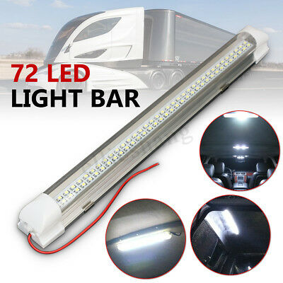 12V LED Interior Lights Bar lighting Strip Lamp Universal For Cabin Caravan