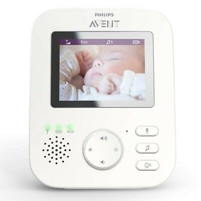 Philips Avent SCD620/26 Video-Babyphone 2,7 Zoll Display NEU