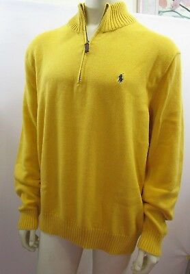 Polo Ralph Lauren Uomo Big Pony francese Rib Mezza Zip