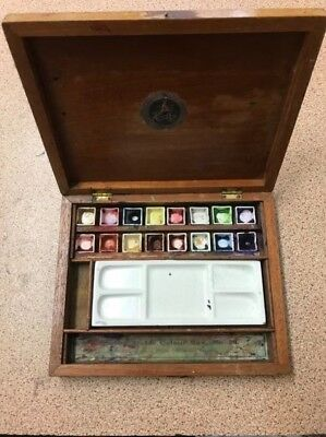 OLD REEVES & SONS LTD ARTISTS BOX. WATER COLOUR BOX No. 28.