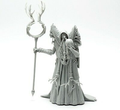 █ 75mm Resin kingdom death Necromancer Boss Unpainted Unassembled WH326