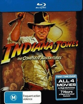 Indiana Jones Complete Blu-ray Collection (Raiders of the Lost Ark / Temple of D
