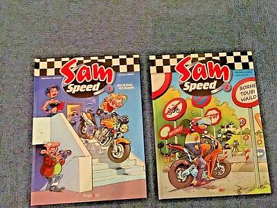 "BD  ""Sam Speed"" (tomes N°1&2)"