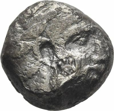 Ancient Greece 350-332 BC Phoenicia Arados Silver STATER DEITY GALLEY