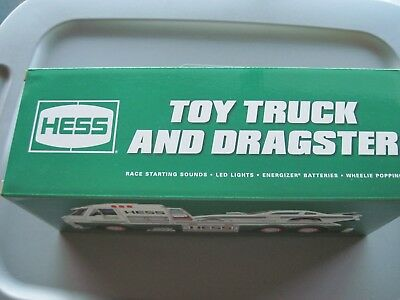 2016 Hess Toy Truck And Dragster -  Brand New In Box