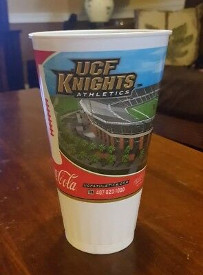 UCF KNIGHTS Central Florida Souvenir Coke Cup 2007 bright house spectrum stadium