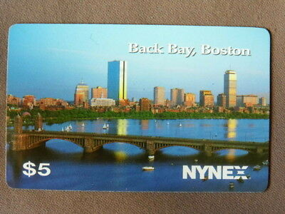 Prepaid Kaart MINT Ongebruikt USA  NYNEX -  Back Bay , Boston