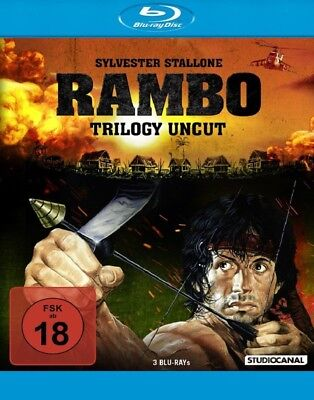 Rambo 1 - 3 Trilogy (Sylvester Stallone)         | Uncut Edition | Blu-ray | 239