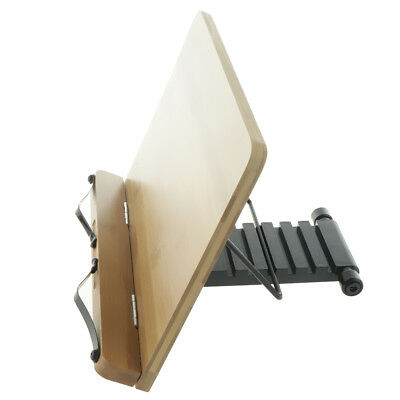 Book Stand Book Rest Document Holder Adjustable Rack Reading Desk 34x24cm