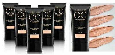 Max Factor CC Colour Correcting Cream Complexion Enhancer 30ml - Various Shades