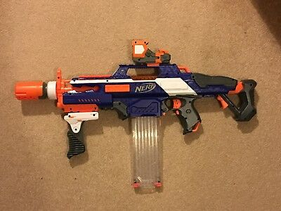 Nerf N Strike Elite Rapidstrike CS18 with Modulus kit included