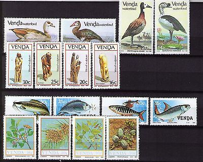 Venda 1987/1990-MNH-4 Complete Year Sets with definitives~~FREE POST~~