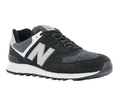 NEW BALANCE ML 574 Vai Classic Sneaker Men s Shoes Black - £65.92 ... 2b1424e4a2