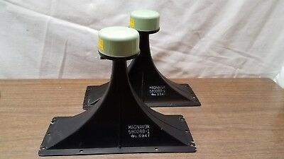 Magnavox Metal Horn Tweeters from Console 7P-3632